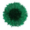 Juju Hat de couleur verte foncée intense.