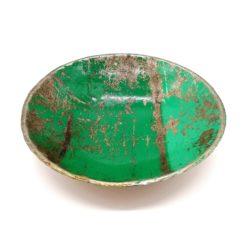 Coupole en métal verte version mini