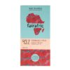 Emballage du chocolat 43 % au lait pur bio et équitable de Mama Akua